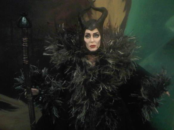 Maleficent & outfits by Lisa Scullard